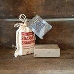 RHASSOUL & ROSEMARY SOAPNUT SHAMPOO BAR 90G
