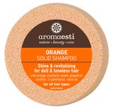 Shampoo  Bar Sinaasappel voor futloos haar_