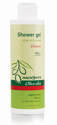 Olive-elia Douchegel venom (orchidee)