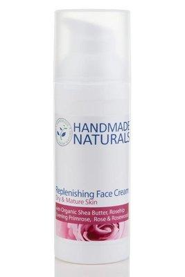 Replenishing Face Cream met Rozenbottel