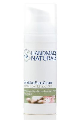 Sensitive Face Cream met rozenbottel en perzik pitolie ongeparfumeerd