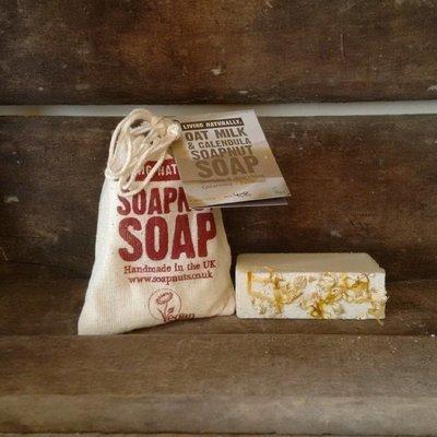 Oatmilk & Calendula Soapnut Soap