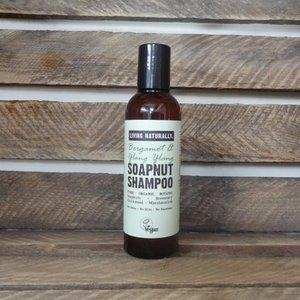LN BERGAMOT & YLANG SOAPNUT SHAMPOO