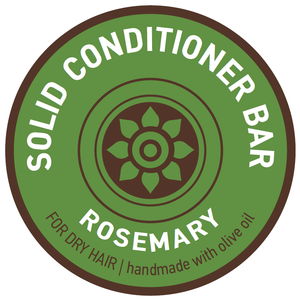 Solid Conditioner Bar Rozemarijn Droog haar