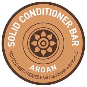Solid Conditioner Bar Argan voor (Gekleurd Haar)