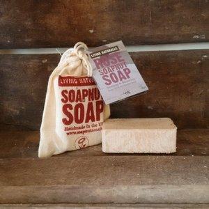 LN Rose Soapnut Soap 90 gram