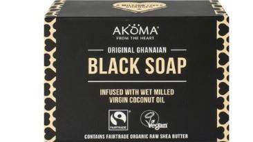 African Black Soap 145 gram