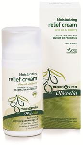 Olive-elia Moisturizing relief cream bij exzeem en psoriasis